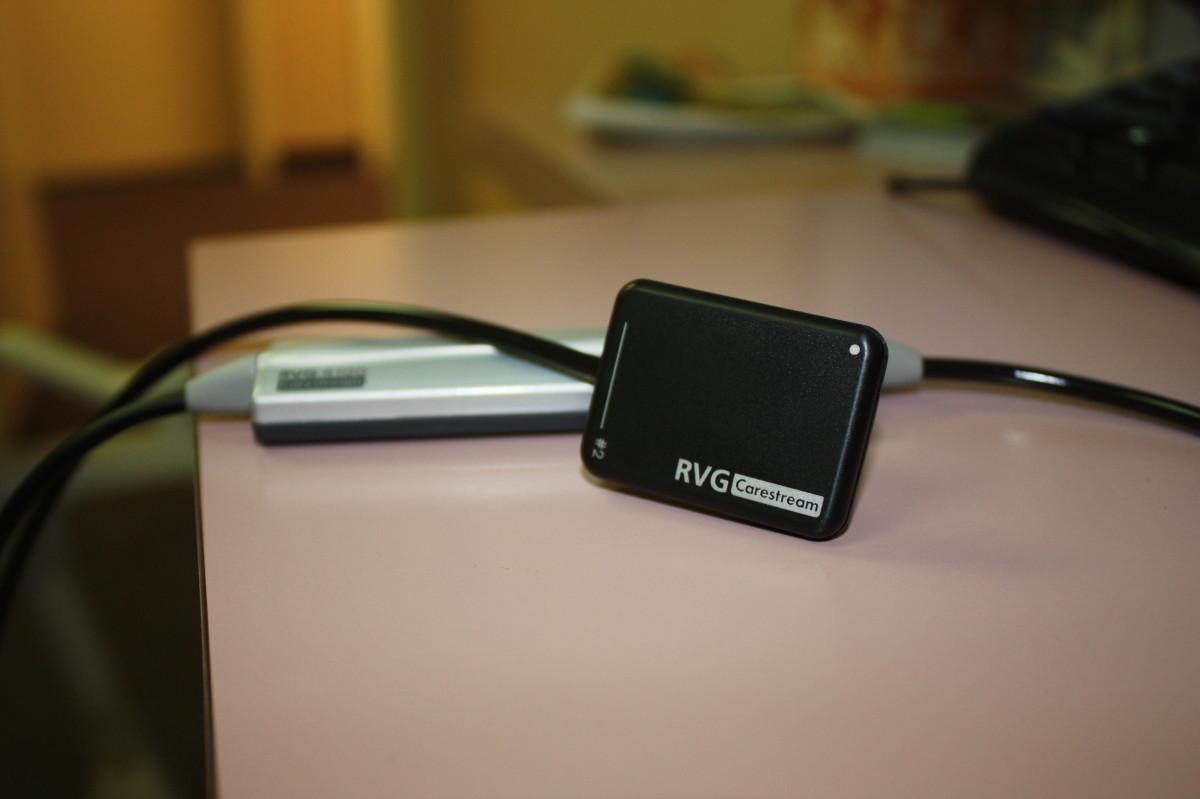 Kodak Digital Sensor for Capturing X-Ray Images
