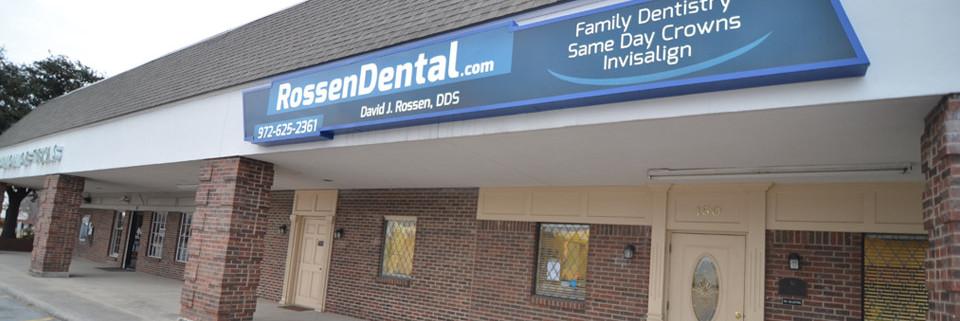 Rossen Dental outside The Colony, TX