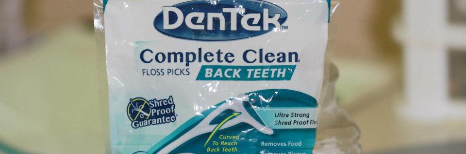 dentek floss picks
